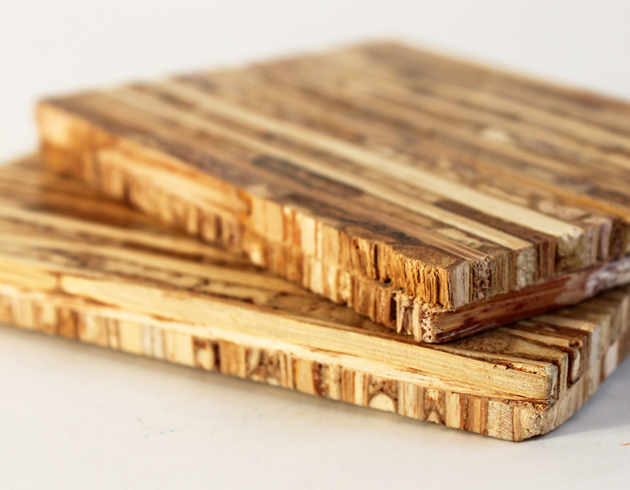 Use spent grains as building material